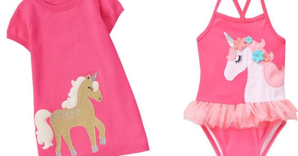 35513f97b6 So Adorable! Gymboree Unicorn Dress Only  11.99 Shipped (Regularly ...