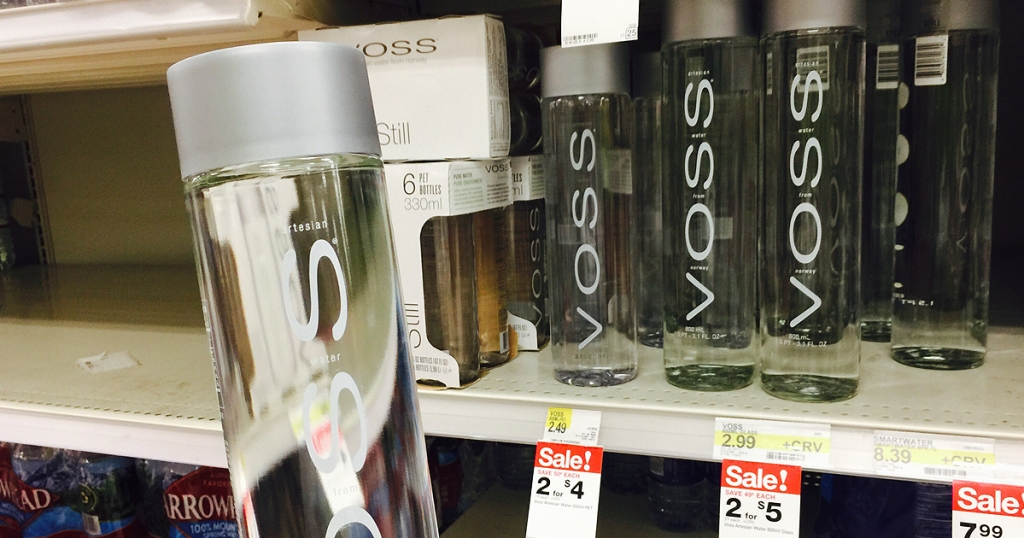 New $2/2 VOSS Water Coupon = Just $1 Per Bottle at Target