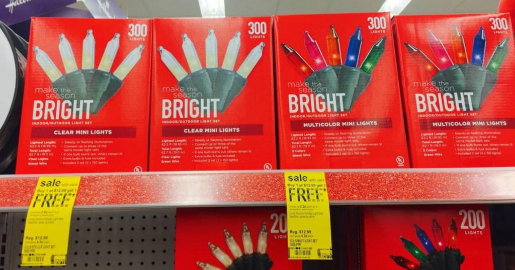 Walgreens: Buy 1 Get 1 FREE Christmas Lights - Hip2Save
