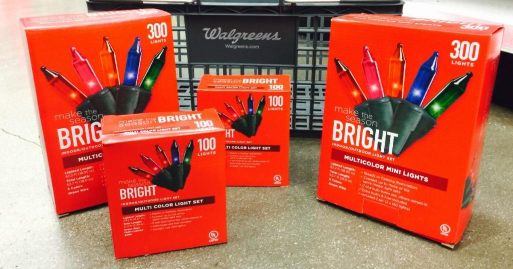 Walgreens Christmas Lights.Walgreens Buy 1 Get 1 Free Christmas Lights Hip2save