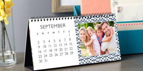 Custom Photo Gifts Only $5 at Walgreens (Desktop Calendar, 11×14 Poster, & More)