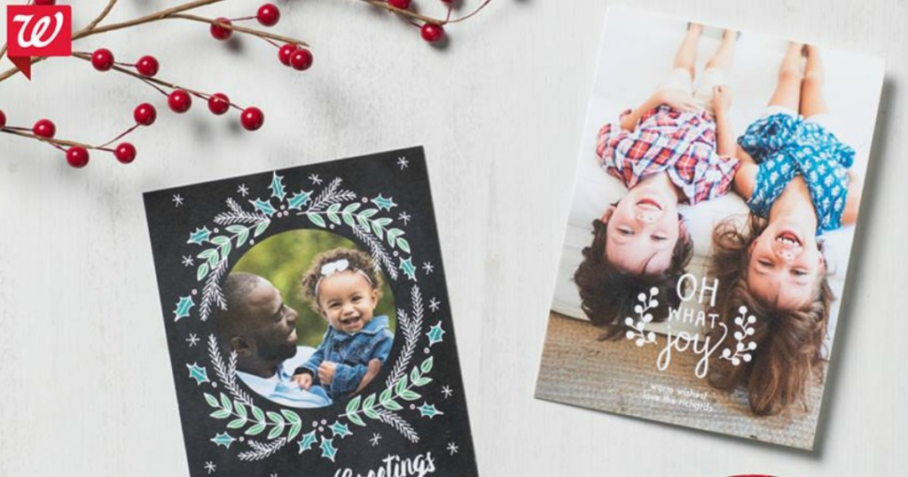 Buy One Get TWO FREE Walgreens Photo Card Sets w/ Free Store Pick-Up ...