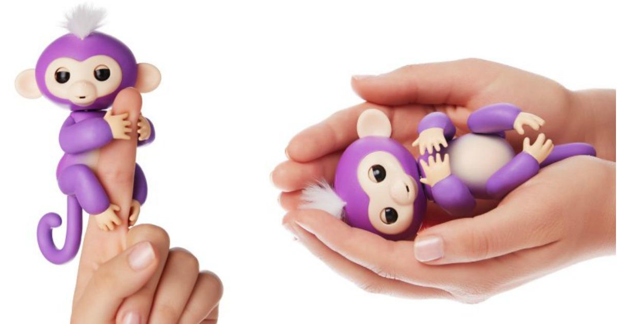 Wowwee Fingerlings Mia Purple Baby Monkey In Stock On