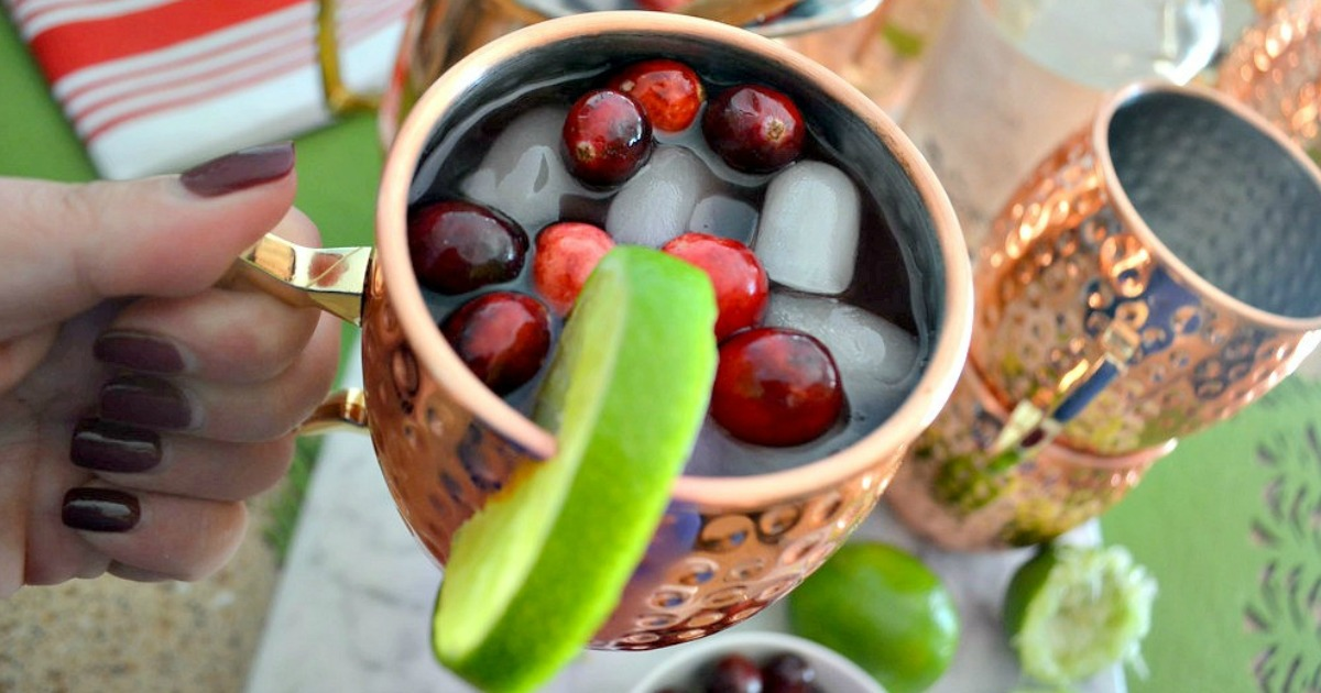 easy moscow mule punch recipe