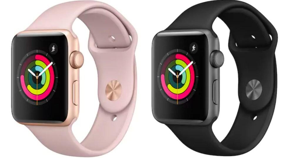 apple watch stock image