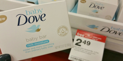 Dove Baby Bar Soap Only 82¢ Each After Target Gift Card