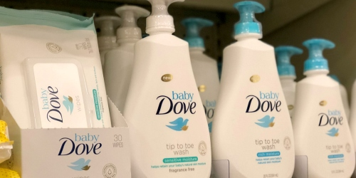 Highly Rated Baby Dove Gift Set + 3 Baby Wipes Packs $23.47 Shipped After Target Gift Card