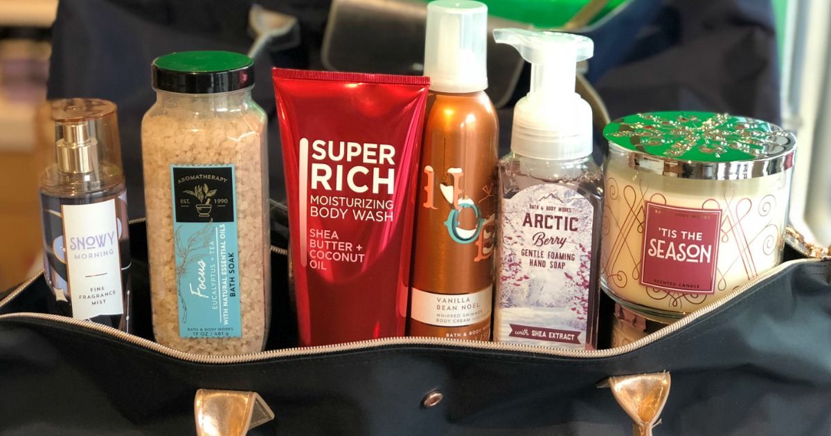 16 secrets for saving big at bath & body works – gift bag examples