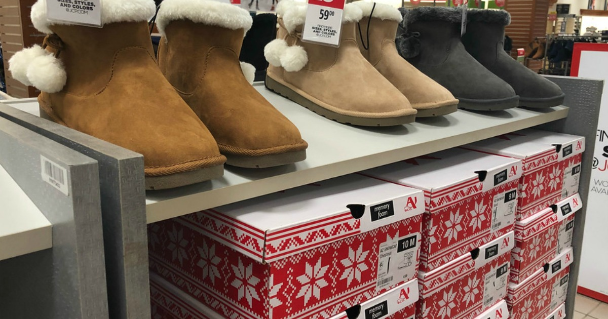 bb3c4de1d3703 JCPenney  Buy One Pair of Women s Boots AND Get TWO FREE Pairs ...