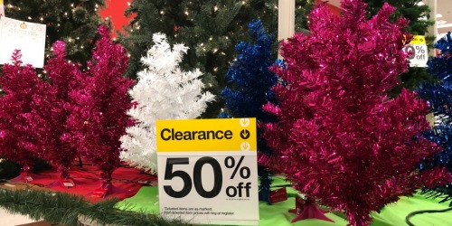 50% Off Christmas Trees at Target + More (In-Store AND Online)
