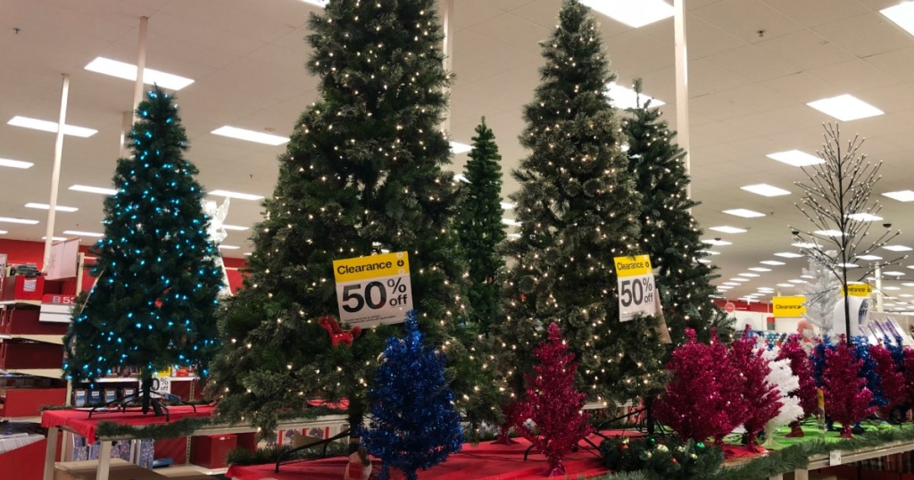 50% Off Christmas Trees At Target + More (In-Store AND