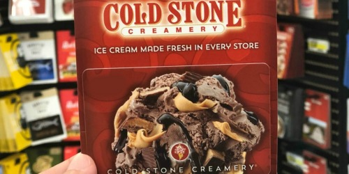 Amazon: $10 Off Select $50 eGift Cards (Cold Stone Creamery, Famous Footwear & More)