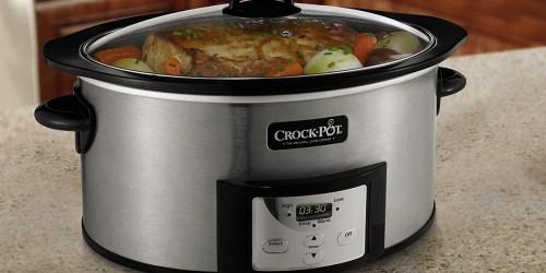Crock-Pot Programmable 6-Quart Slow Cooker Only $21 at Target.com (Regularly $50)