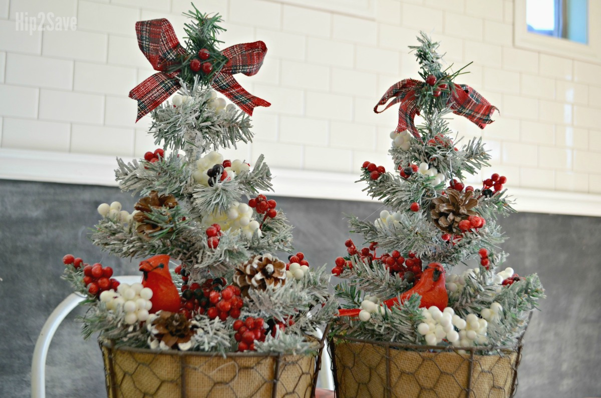 Mini Christmas Trees + All the Trimmings Only $1 Each at ...
