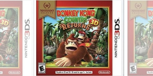 Amazon: Donkey Kong Country Returns Nintendo 3DS Game Just $12.61 Shipped (Regularly $20)