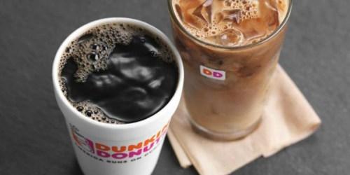 Free $10 Dunkin' Donuts Bonus Offer – Just Load $10 Using Masterpass