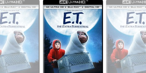 Amazon: E.T. The Extra-Terrestrial 4K UHD +Blu-ray Just $12.99 (Regularly $25)