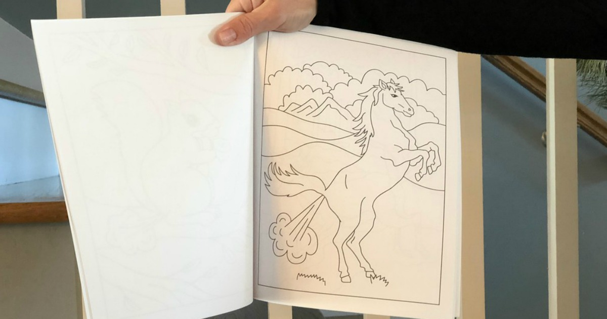 White Elephant Gifts, Gag Gifts, Funny Gift Ideas – unicorn farting coloring book page