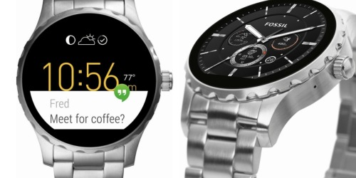 Fossil Q Marshal Smartwatch Only $137.50 Shipped (Regularly $275)