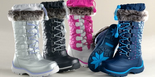 Lands' End Girls Snowflake Boots Just $34.97 (Regularly $70) + More