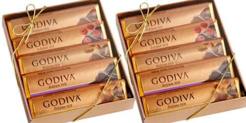 Macy's: Godiva Chocolate 5-Bar Pack Only $8.40 – Just $1.68 Per Bar