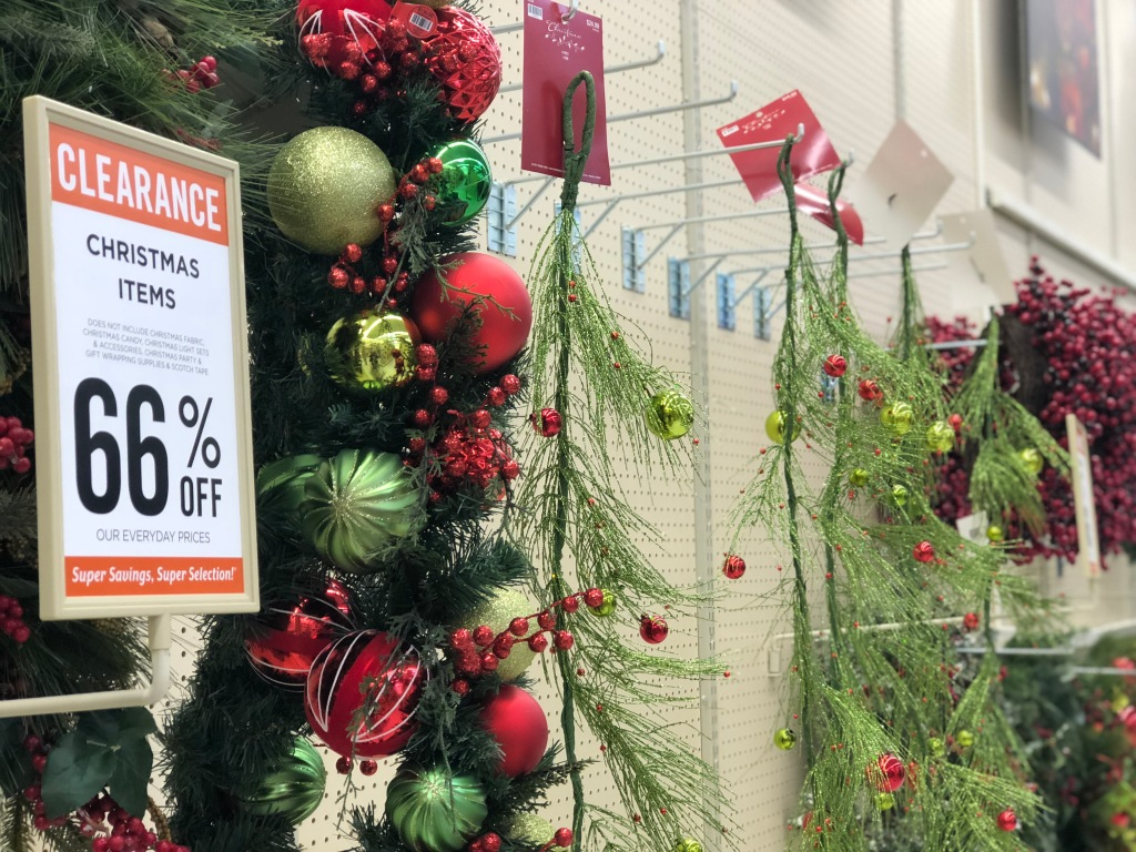 Christmas Wreaths & Hanging Garland