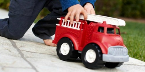 Green Toys Fire Truck Only $10.99 on Amazon (Regularly $28) + 60% Off More Toys