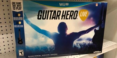 ToysRUs: Guitar Hero Live ALL Platforms as Low as $8.49 Each (Regularly $40)