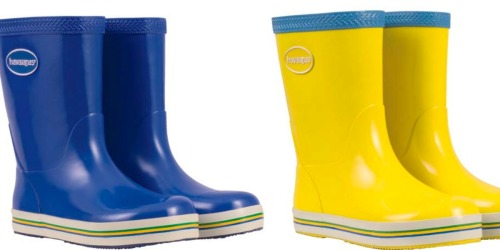 Zulily: Up to 70% Off Havaianas Rain Boots – Prices Start at Just $11.99