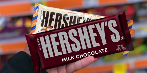 TWO Hershey's Bars ONLY 25¢ at CVS (Starting 12/17)