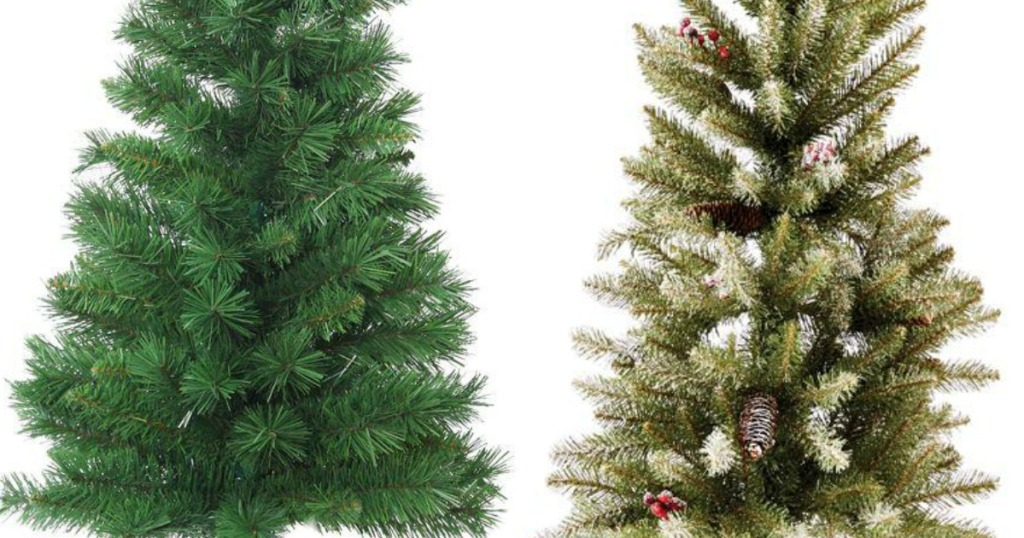 Home Depot: Artificial Christmas Trees Starting At ONLY $4