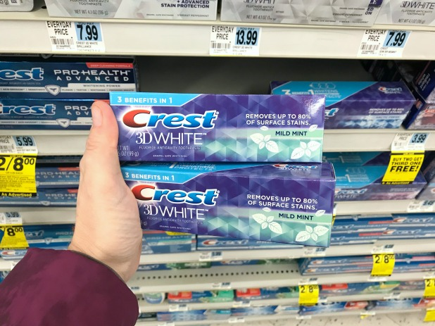 Rite Aid Crest Toothpaste