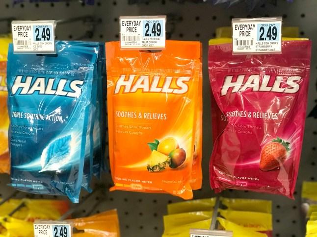 Rite Aid Halls Cough Drops