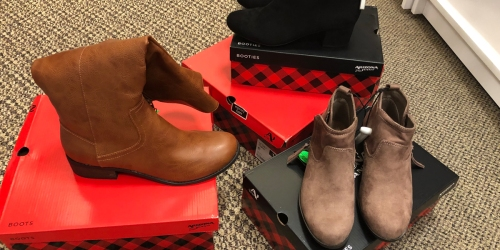Buy 1 Pair of Women's or Girls Boots & Get 2 FREE Pairs at JCPenney