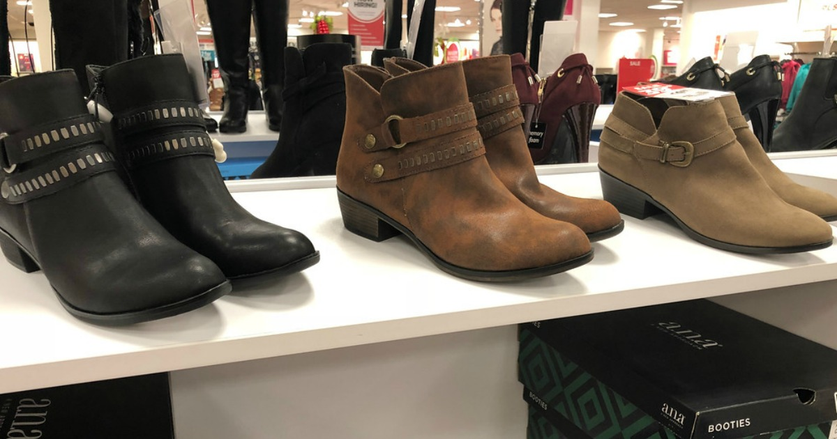JCPenney: Buy One Pair of Women's Boots