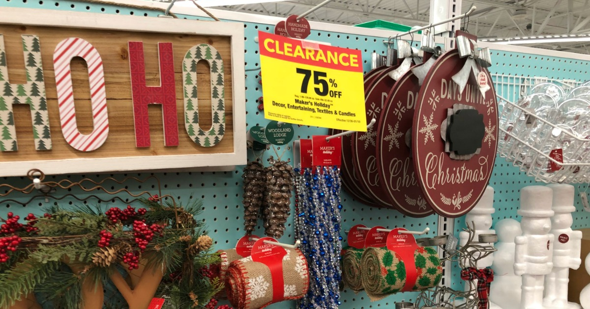 Christmas Clearance 75 Off.Joann Fabric Up To 75 Off Holiday Clearance In Store And