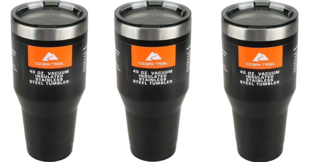 4e57788e1ae Walmart: Highly Rated LARGE 40 Ounce Ozark Trail Tumbler ONLY $6.56 ...