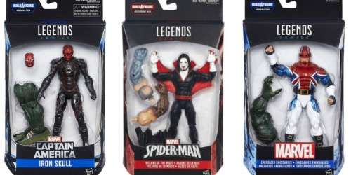Walmart.com: Disney Marvel 6-Inch Legends Series As Low As $2.98 (Regularly $10+)