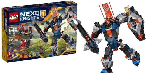 LEGO Nexo Knights The Black Knight Mech ONLY $19.99 (Regularly $40) + More