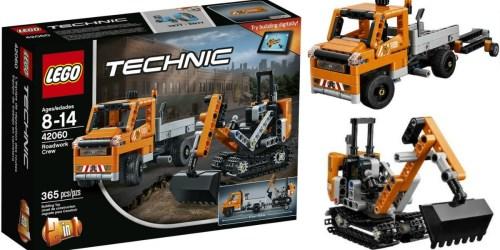 ToysRUs: LEGO Technic Roadwork Crew Only $14.99 (Regularly $30)