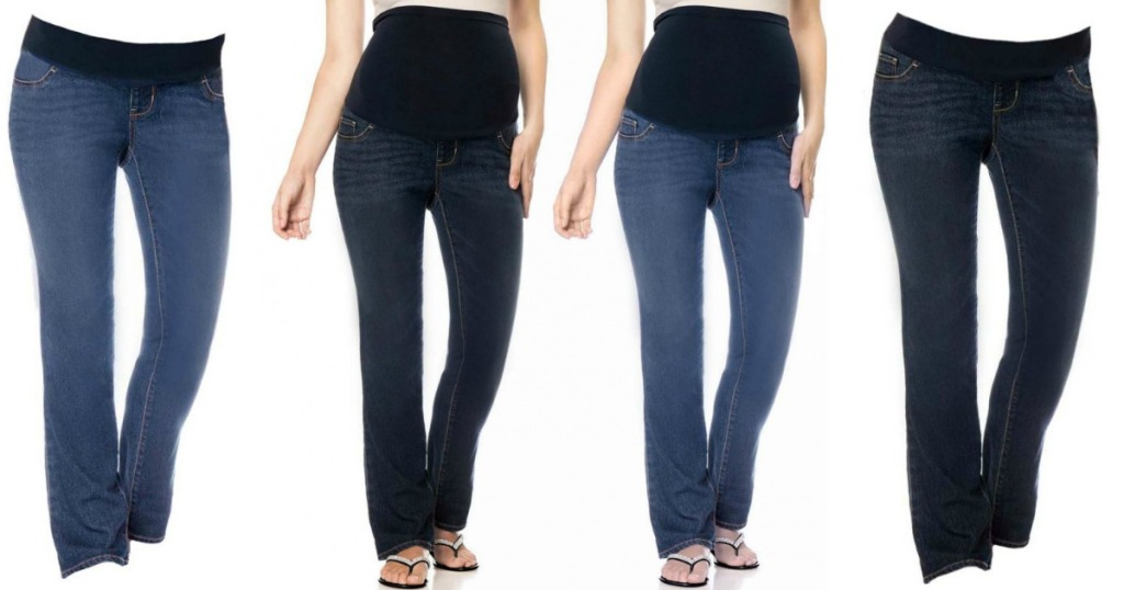 12449e44d5f37 Liz Lange Maternity Bootcut Jeans ONLY $11.99 Shipped (Regularly $40 ...