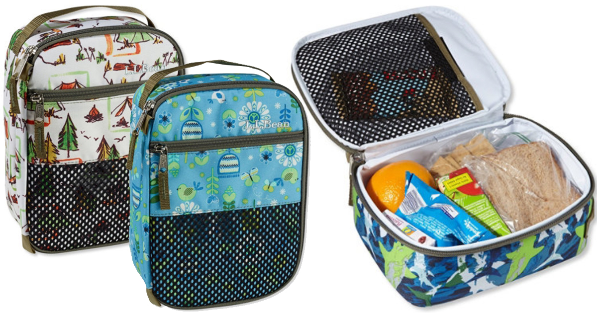 Amazing L L Bean Insulated Lunch Boxes Only 8 24 Shipped Gmtry Best Dining Table And Chair Ideas Images Gmtryco