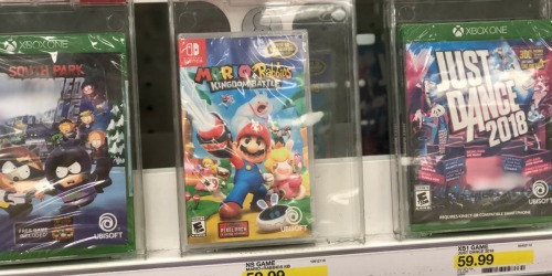 Target: 50% Off Nintendo Switch Game With Purchase of Mario + Rabbids Kingdom Battle