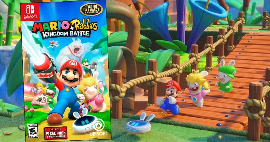 Mario + Rabbids Kingdom Battle Nintendo Switch Game Only