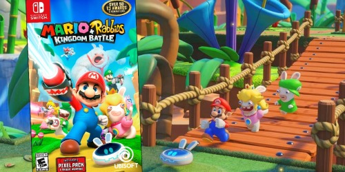 Mario + Rabbids AND LEGO Marvel Nintendo Switch Games $69.98 Shipped ($120 Value)