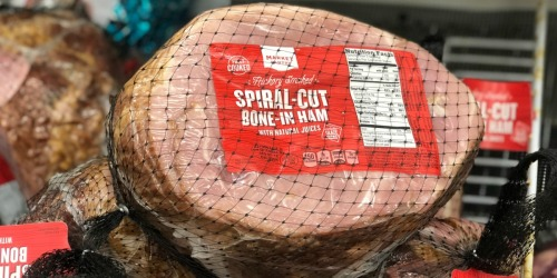 Almost 50% Off Market Pantry Hickory Smoked Spiral Cut Ham at Target