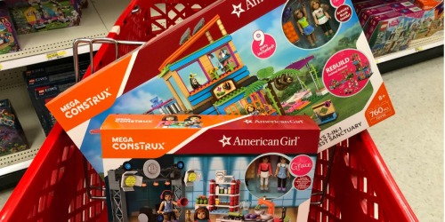 Target: 40% Off Mega Construx American Girl Sets – Just Use Your Phone