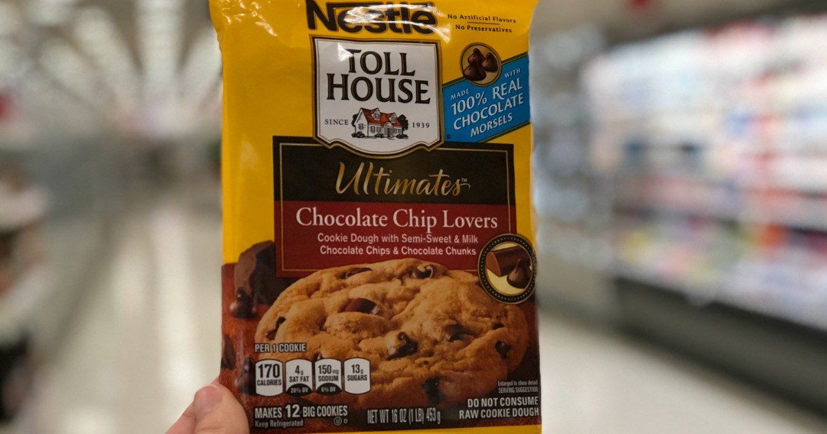 Nestle Ultimate Chocolate Chip Lovers cookie dough