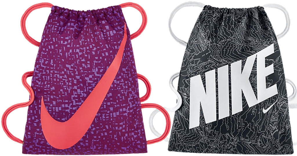 Extra 25% Off Nike Clearance Sale   Kids Gym Sacks Only  7.48 Shipped   More fd968eb28