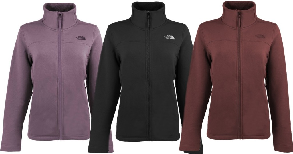 ea8d672f0942 The North Face Women s Timber Full Zip Jackets Only  54.99 Shipped  (Regularly  99)